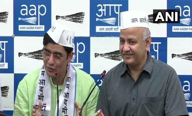 झारखंड में कांग्रेस को बड़ा झटका, पूर्व अध्यक्ष अजय कुमार 'आप' में हुए शामिल