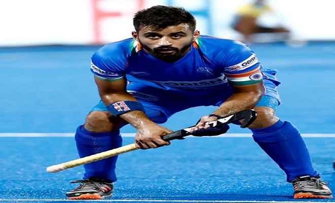 बेल्जियम दौरे के लिये भारतीय हॉकी टीम घोषित, मनप्रीत सिंह को मिली कमान