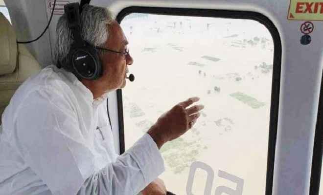 बिहार में गंगा समेत कई नदियां उफान पर, मुख्यमंत्री नीतीश ने बाढ़ प्रभावित क्षेत्रों का किया हवाई सर्वेक्षण