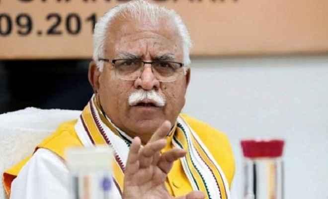 हरियाणा विस चुनाव: भाजपा का किसी पार्टी से नहीं व्यक्ति विशेष से होगा मुकाबला: मनोहर लाल