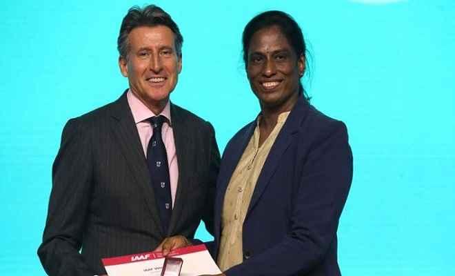 पीटी उषा को मिला प्रतिष्ठित सम्मान, आईएएएफ ने वेटरन पिन पुरस्कार से किया सम्मानित