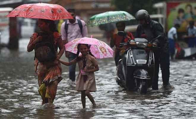 मूसलाधार बारिश को लेकर 14 जिलों में अलर्ट जारी,  मुजफ्फरपुर के सभी स्कूल 30 सितंबर तक बंद
