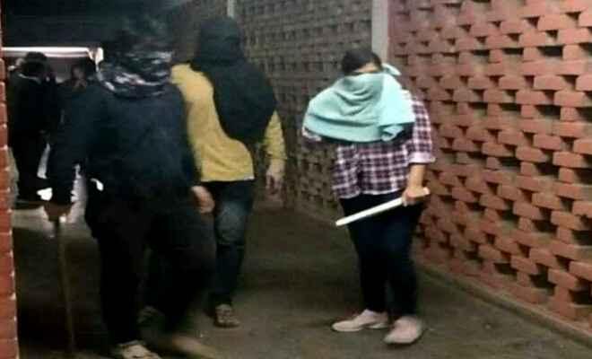 जे.एन.यू हिंसा मामले में गृह मंत्रालय ने मांगी रिपोर्ट