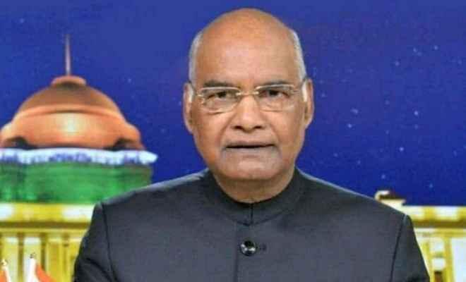 फर्जी ख़बरें समाचार जगत में नए खतरे के रूप में उभरी हैं: रामनाथ कोविंद