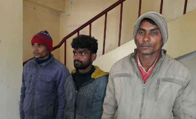 बेतिया में एसएसबी ने 8 किलोग्राम गाँजा के साथ तीन व्यक्ति को किया गिरफ्तार