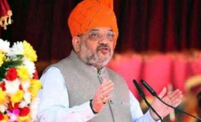 गृह मंत्री अमित शाह ने सी.ए.ए को लेकर दिल्ली के मुख्यमंत्री अरविंद केजरीवाल के विरोध प्रदर्शन को शर्मनाक बताया