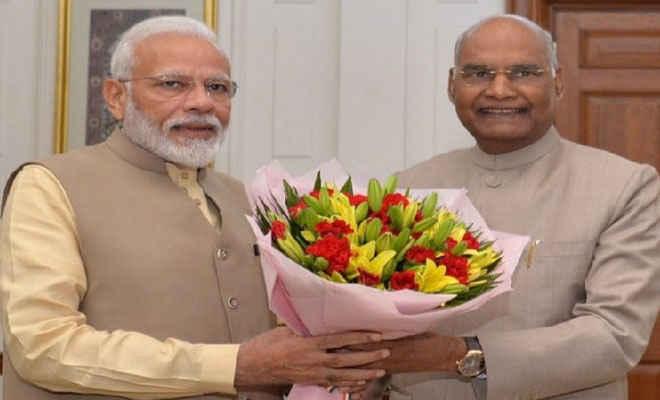 राष्ट्रपति कोविंद को 75वें जन्मदिन के मौके पर प्रधानमंत्री मोदी, उपराष्ट्रपति नायडू समेत अन्य नेताओं ने दी शुभकामनाएं