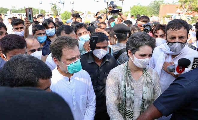 हाथरस कांड: पुलिस की बर्बरता के खिलाफ देशभर में कांग्रेसी कार्यकर्ता करेंगे प्रदर्शन