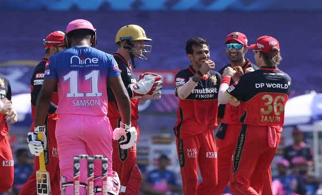 आईपीएल 2020: बैंगलोर ने दर्ज की सीज़न की तीसरी जीत, राजस्थान को आठ विकेट से हराया