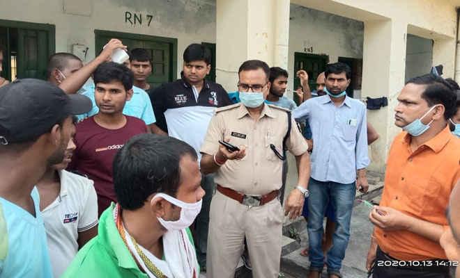 मोतिहारी के राजेन्द्र छात्रावास, चांदमारी में दो गुटों में मारपीट, तीन घायल