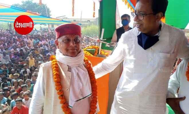पश्चिम चंपारण: जिला कांग्रेस कमेटी के महासचिव श्री प्रभुनाथ तिवारी हुए भाजपा में शामिल