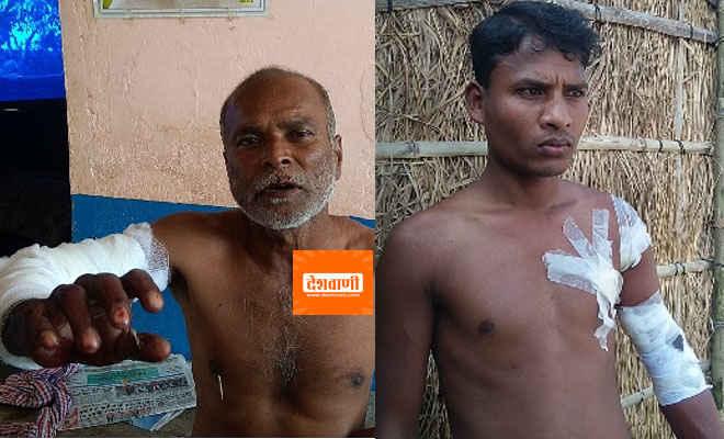 मोतिहारी में कोटवा के सरेह में दो लोगों को घायल करने के बाद तेंदुआ घुसा एक घर में, घरवालों ने छत पर ली शरण, वाल्मीकिनगर से आ रही रेस्क्यू टीम