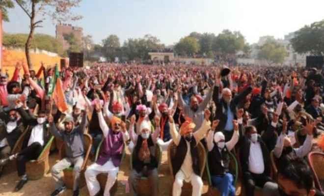UP:हजारों किसानों ने राज्य के विभिन्न स्थानों पर आयोजित किसान गोष्ठियों में लिया हिस्सा