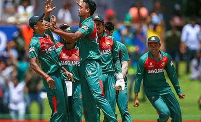 भारत को हराकर पहली बार बांग्लादेश ने अंडर-19 क्रिकेट विश्वकप जीता