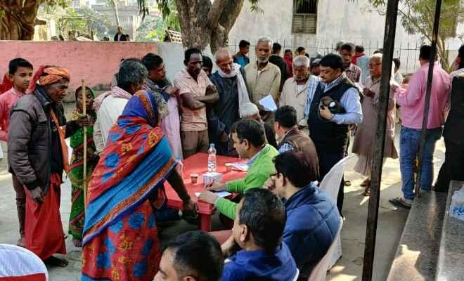 लायंस क्लब ऑफ मोतिहारी कपल द्वारा लगाया गया स्वास्थ्य शिविर, 400 मरीजों का हुआ मुफ्त इलाज