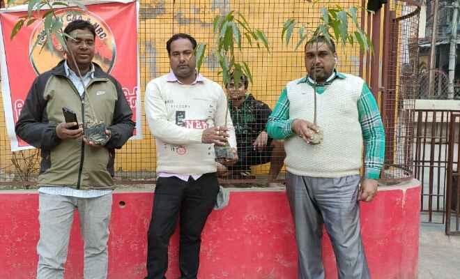 बेतिया में पुलवामा के शहीदों की याद में हरियाली सेना का वृक्षारोपण संपन्न
