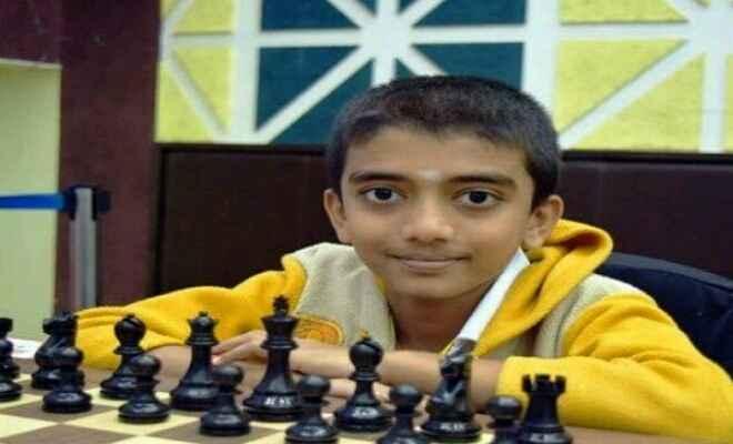 भारत के 13 वर्षीय ग्रैन्ड मास्टर डी. गुकेश ने फ्रांस में 34वीं कान ओपन शतरंज प्रतियोगिता का खिताब जीता