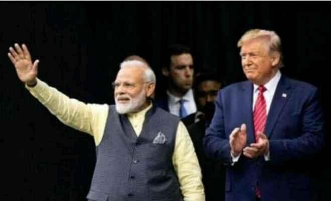 आज नई दिल्ली में प्रधानमंत्री मोदी और अमेरिका के राष्ट्रपति ट्रंप करेंगे विस्तृत वार्ता