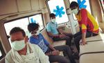 कोरोना वायरस के तीन संदिग्ध को भेजा गया बेतिया आइसोलेशन वार्ड
