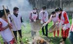 बेतिया इंडियन रेडक्रॉस सोसाइटी ने कोरोना वायरस से जंग के प्रति लोगों को किया जागरूक