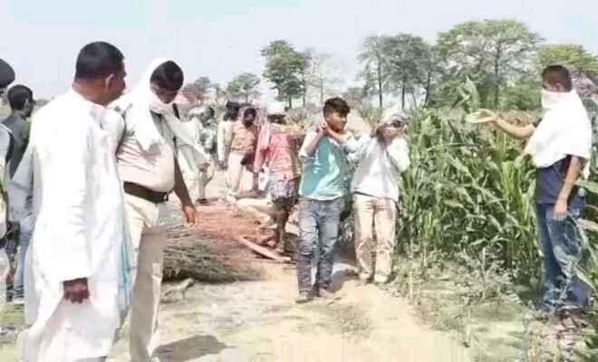 समस्तीपुर में श्मशान पहुंची युवती की लाश को पुलिस ने किया जब्त