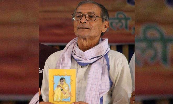 साहित्यिक मंचों पर विदाई गीत गाने वाले मशहूर कवि अश्विनी कुमार आंसू की अंतिम रुखसती ने सांस्कृतिक जगत को झकझोर दिया