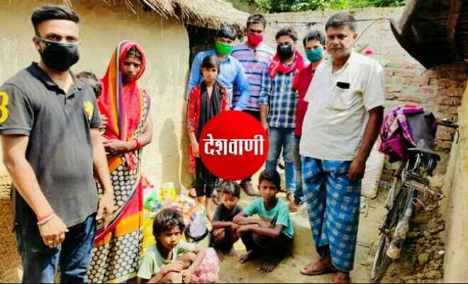 रक्सौल के ई. कुंदन श्रीवास्तव पिछले कई दिनों से गरीब और लाचार परिवारों को अपना कर 6 महीने का राशन कर रहे वितरण