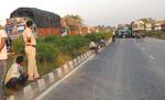 मोतिहारी में बस की चपेट में आकर बाइक सवार दो की मौत