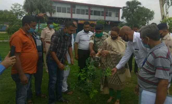 रक्सौल एसडीएम सुश्री आरती ने कहा- कोरोना काल में जीवन को सुरक्षित रखने के लिए पर्यावरण को संरक्षित करना जरूरी
