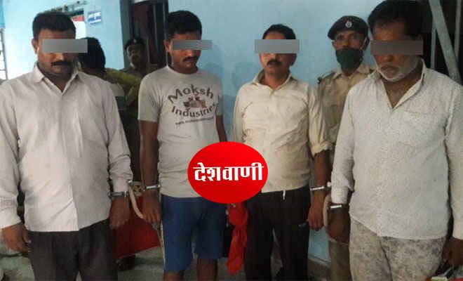 मोतिहारी के तेलियापट्टी, अमलापट्टी व ठाकुरबाड़ी मुहल्ले से कराबोर व शराब पीने के आरोप में 7 गिरफ्तार