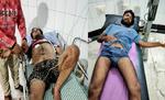 मोतिहारी के चांदमारी चौक पर रात हुई भीषण गोलीबारी में ट्रांस्पोर्ट व्यवसायी सहित तीन जख्मी, दो गिरफ्तार