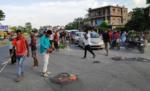 सड़क दुर्घटना में घायल चकिया के चाय दुकानदार की इलाज के दौरान मौत, आक्रोशित परिजन ने एनएच जाम किया