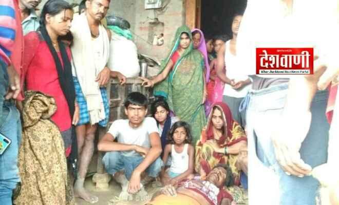 आदापुर में आकाशीय बिजली गिरने से एक किसान की मौत