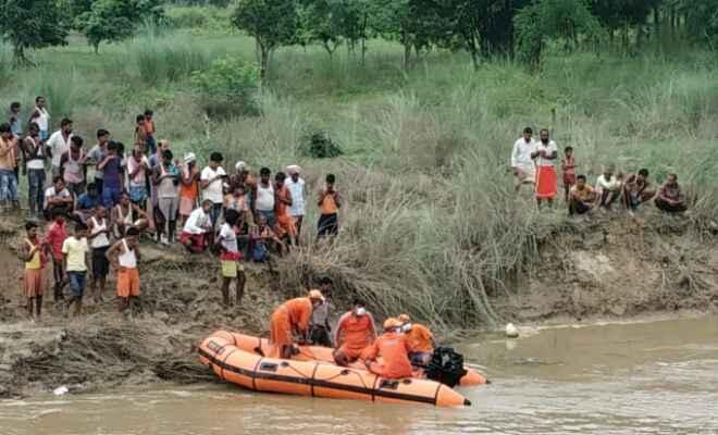 रक्सौल: बंगरी नदी में बांध बांधने के क्रम में युवक डूबा, 5 घंटे बाद पहूंची एनडीआरएफ की टीम