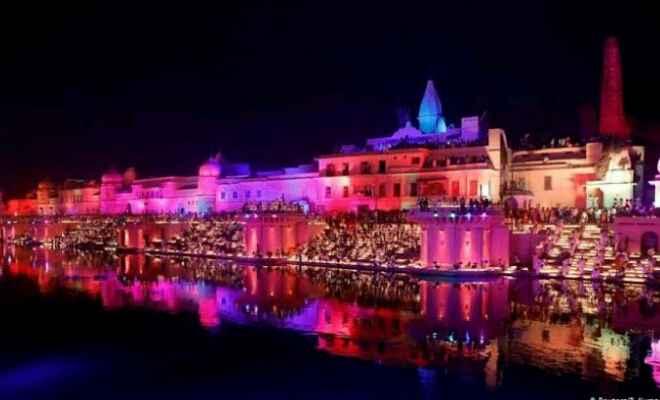 अयोध्या राम मंदिर: कल होने वाले भूमि पूजन को लेकर भव्य तैयारी