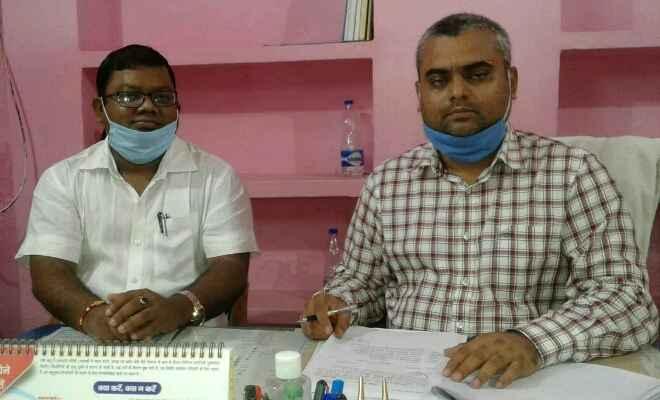 रक्सौल: नवपदस्थापित बीडीओ संदीप सौरव ने पदभार ग्रहण किया