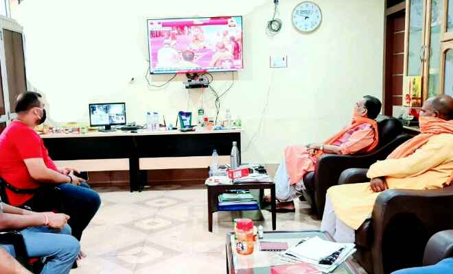 राधा मोहन सिंह ने कहा- राम मंदिर की नींव पर रखी जाने वाली प्रत्येक ईंट राष्ट्र गौरव को शिखर की ओर ले जाएगी