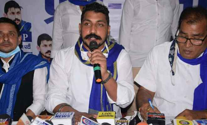 बिहार की सभी सीटों पर मजबूत तैयारी कर रही भीम आर्मी : चंद्रशेखर आजाद उर्फ रावण
