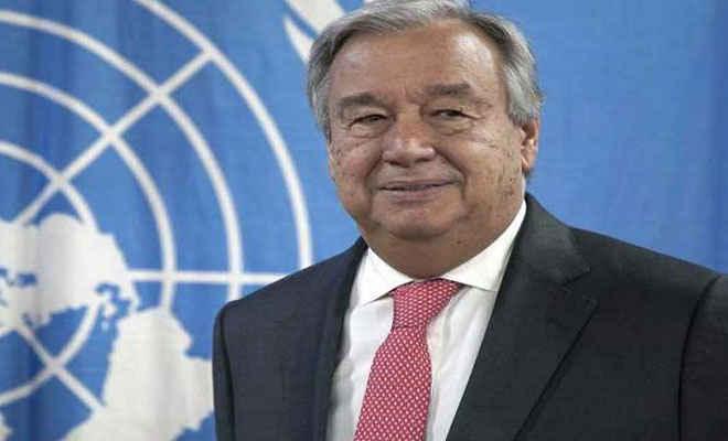 संयुक्त राष्ट्र महासचिव एंटोनियो गुटेरेस ने पत्रकारों पर हमले की निंदा की, लोकतंत्र में जरूरी है प्रेस की आजादी