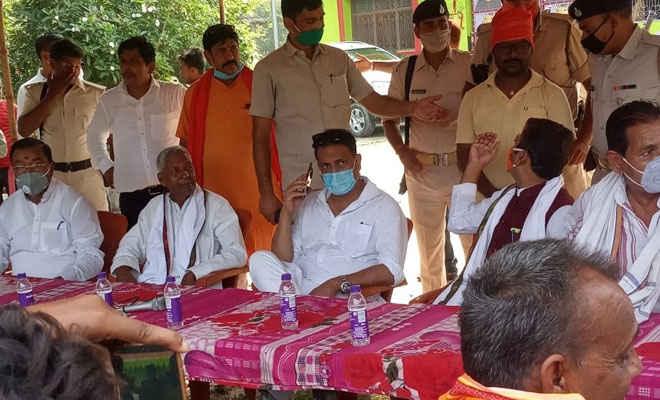 भाजपा के राष्ट्रीय अध्यक्ष जेपी नड्डा का सुगौली व रक्सौल में पूर्व केन्द्रीय मंत्री राजीव प्रताप रूडी का वर्चुवल कार्यक्रम