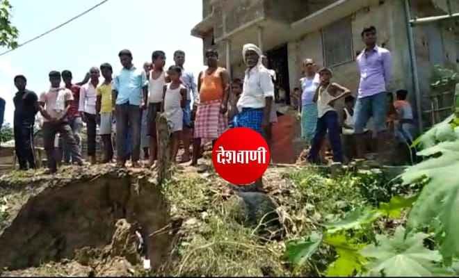 रक्सौल: हरदिया ग्रामवासियों में नदी के कटाव से भय की स्थिति