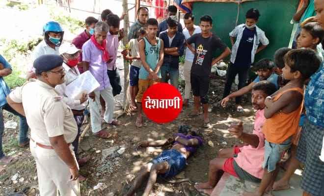 रक्सौल: नेपाली युवक का शव दुर्गा मंदिर के पीछे के नाला से जीआरपी ने किया बरामद