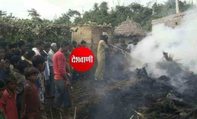 रक्सौल: पलनवा में हुई अगलगी में लाखों के सामान जलकर राख, एसएसबी व दमकल की प्रयास से आग पर काबू