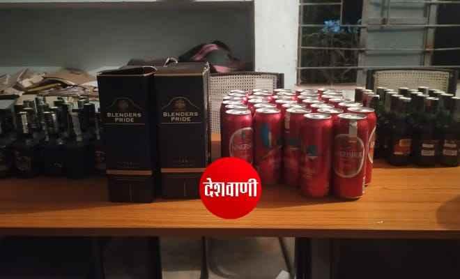 रक्सौल में नेपाल निर्मित विदेशी शराब के साथ एक गिरफ्तार