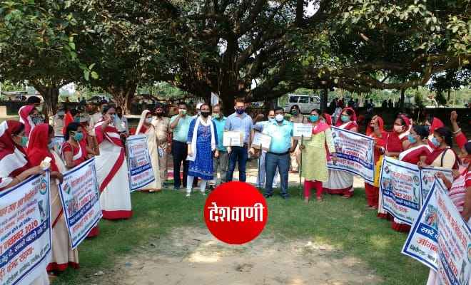 बिहार विधानसभा चुनाव की तैयारी को लेकर रक्सौल एसडीएम ने कराया जिले में पहली बार मॉक ड्रील