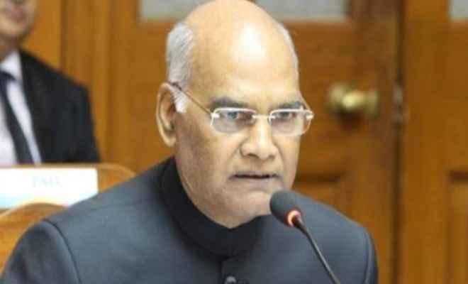 दो भारतीय कोविड टीकों का निर्माण आत्मनिर्भर भारत अभियान की महत्वपूर्ण उपलब्धि: राष्ट्रपति रामनाथ कोविंद