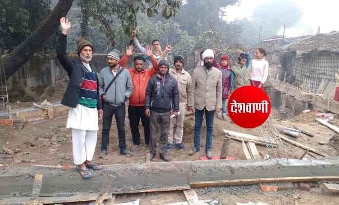 रक्सौल: भूमि अतिक्रमण कर घर बनाने के विरोध में स्वच्छ रक्सौल, बजरंग दल और आसपास के लोगों ने विरोध किया प्रर्दशन