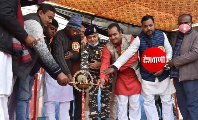 सशस्त्र सीमा बल पंटोका रक्सौल ने भेलाही में नागरिक कल्याण कार्यक्रम का किया आयोजन