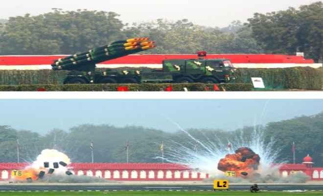भारतीय सेना ने सेना दिवस परेड में अपने ड्रोन्स का शानदार प्रदर्शन किया