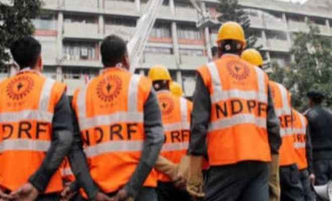 राष्ट्रीय आपदा मोचन बल(एनडीआरएफ)ने अपना 16 वां स्थापना दिवस मनाया